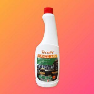 tecnet banco san Detergente igienizzante disinfettante e battericida,